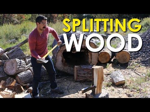 Learn to Properly Split Wood with This Instructional Video
