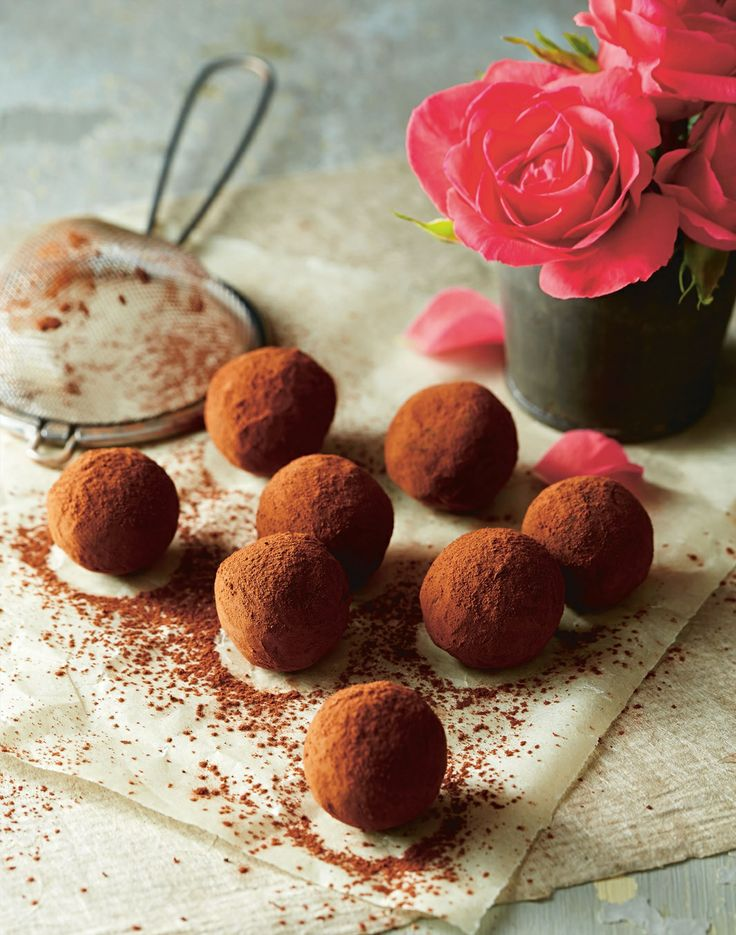 Perfect for Christmas – chocolate rose truffles recipe by April Carter | Cooked