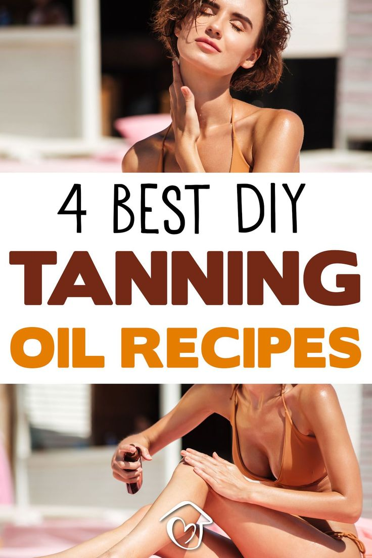 I love the natural spf protection you get with these 4 diy