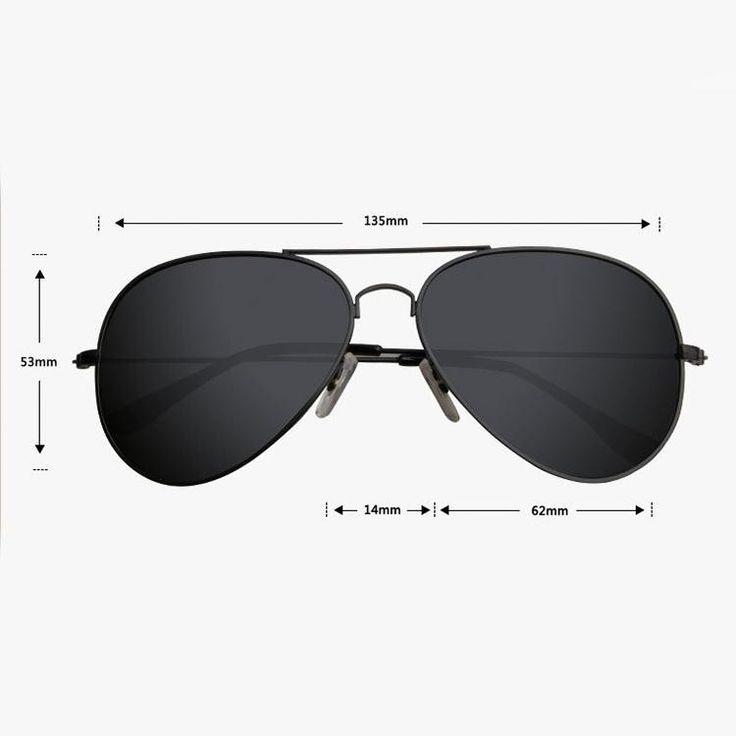 nice 2016 nueva moda Vintage hombre clásico Aviator gafas de sol de HD espejo polarizado deportes exterior viaje gafas de sol gafas Shades