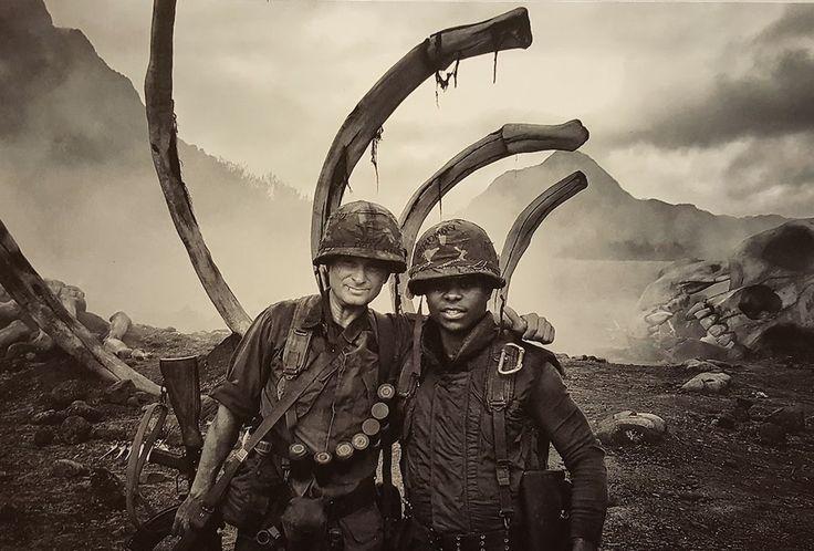 Shea Whigham and Jason Mitchell in Kong: Skull Island (27)