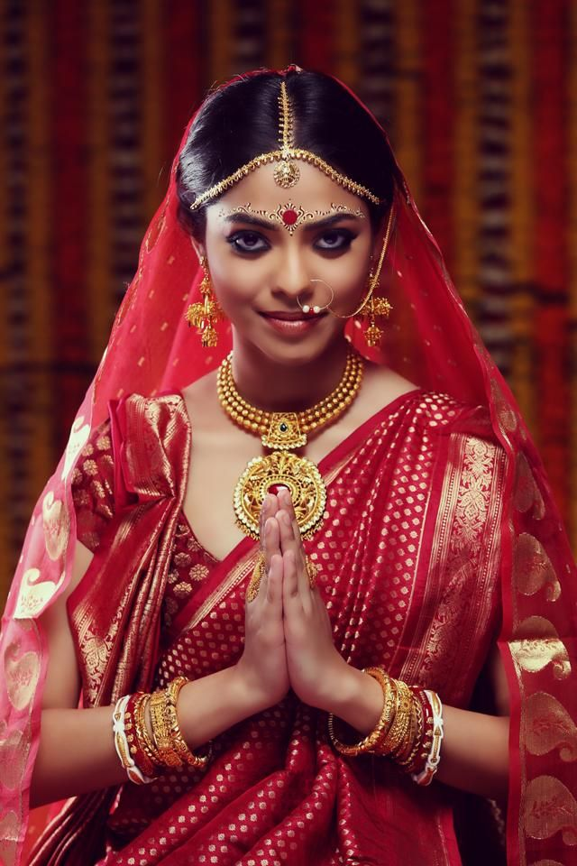 Thats what we call a tre bengali bride