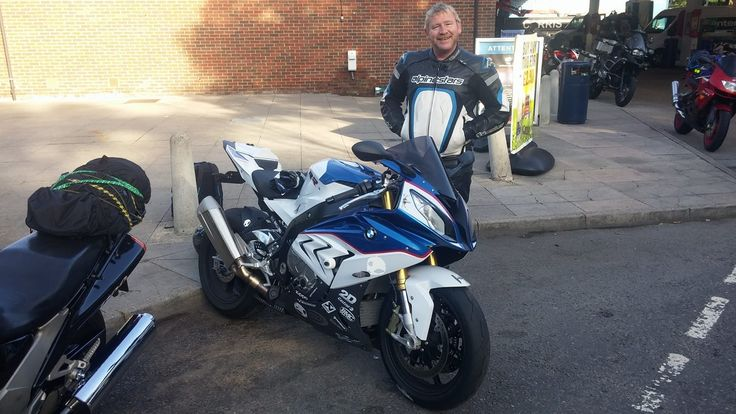 My BMW s1000rr, On my way to Assen  Moto GP, Holland. Unfortunately, This bike was stolen in Amsterdam, The night we got there.
