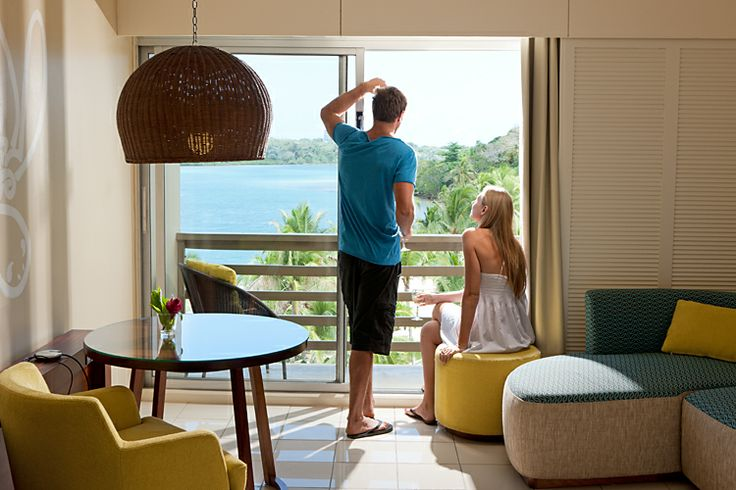 Spectacular views can be enjoyed from our lagoon view rooms.