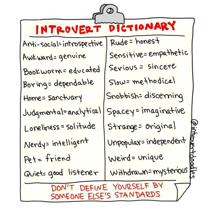 For all my introverted friends... Sometimes these can be true though, be careful and evaluate yourself wisely... If you're not sure,ask someone you trust to tell you the truth--even if it hurts.