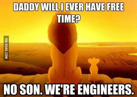 I'm a Civil Engineer and so is my son