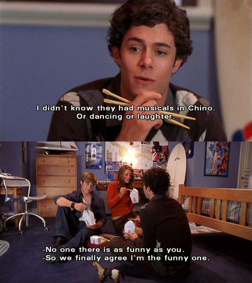 Seth Cohen, the funny one; also with Ryan Atwood and Marissa Cooper. #TheOC