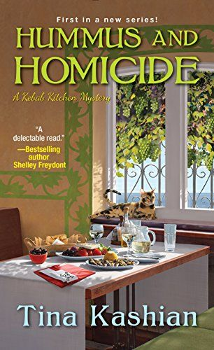 Hummus and Homicide (A Kebab Kitchen Mystery) by Tina Kas... https://smile.amazon.com/dp/B071FLH733/ref=cm_sw_r_pi_dp_x_JpklzbGYBXWSN