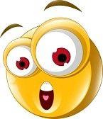 faccina sorridente : Espressione di sorpresa per la progettazione Vettoriali