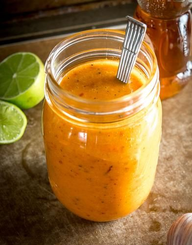"Chipotle Honey Vinaigrette (Chipotle Mexican Grill Copycat) - Patrick Calhoun, ""Mexican Please"", www.mexicanplease.com"