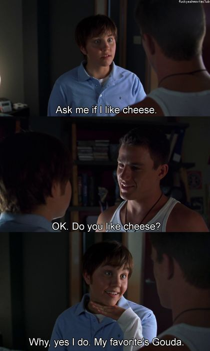 could probably quote every line from this movie.  i love it so much.  channing tatum's not too horrible to look at either.