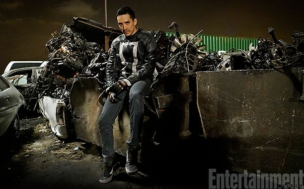 Agents of SHIELD exclusive first look at Gabriel Luna as Robbie Reyes, Ghost Rider