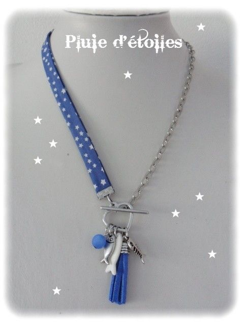 Colliers Liberty - Pluie d'étoiles bijoux