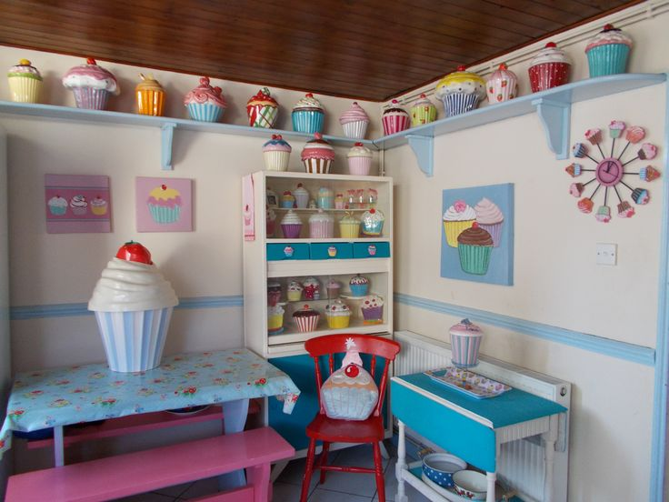 1000 images about cupcake home decor on pinterest for Cupcake themed kitchen ideas