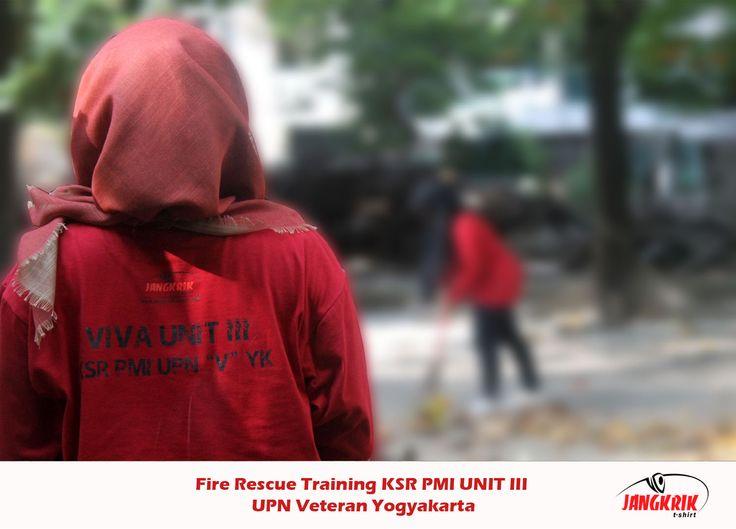 #Kaos panitia Fire Rescue Training - UPN Yogyakarta