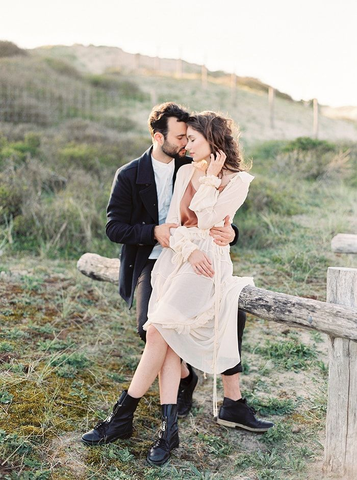 A Carefree Outdoor Couple's Session