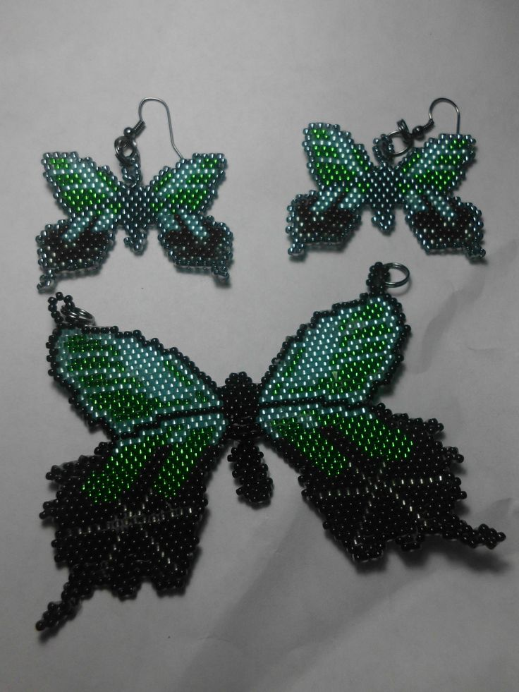 1000 Images About Beaded Butterflies And Dragonflies On