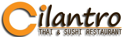 CILANTRO - A great Thai and Sushi spot next to Canal Park Stafium and along the Towpath Trail in Downtown Akron