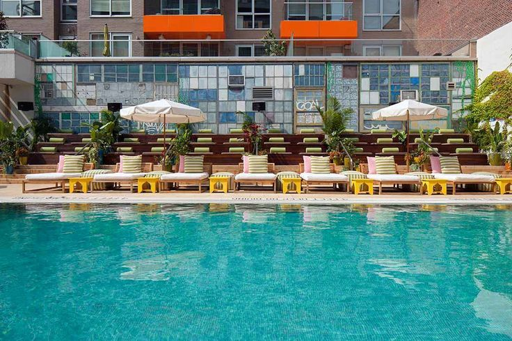 NYC Hotels with Swimming Pools | Staying in NY (Hotels) | Hotel pool