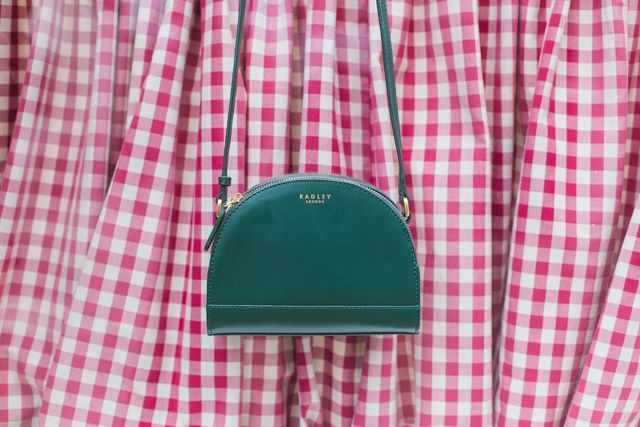 MOOD: This Radley Odell bag comes in the perfect shade of green for Autumn.