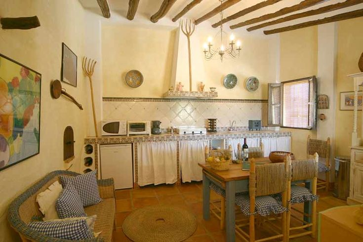 Old english farmhouse kitchen farmhouse farmhouse for Farm style kitchen decor