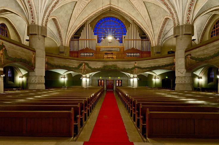 Tampere Cathedral, interior -  Tampereen tuomiokirkko Kuva: Kantti