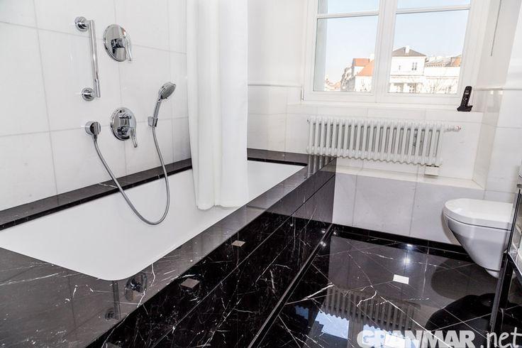 Kilka dodatkowych ujęć z naszej realizacji okładzin wanien w Pałacu Prymasowskim #marmur #łazienka