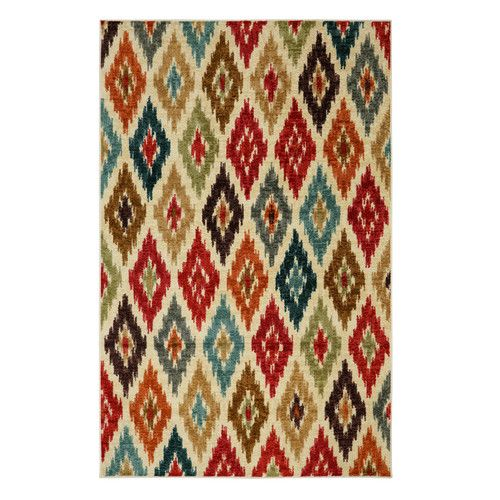 Found it at Wayfair - Strata Red Area Rug