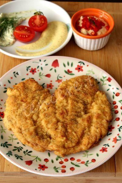 Sevdiklerinize hazırlayacağınız mükemmel bir yemek ister misiniz. Yapımı çok kolay, Aşk Dolu Schnitzel