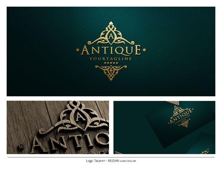 Luxury Vintage Logo - Gold Median Ajans