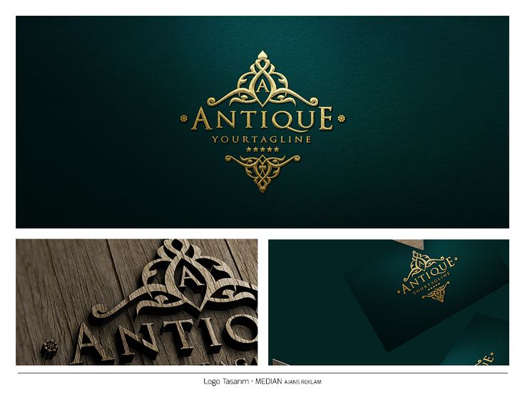 Luxury Vintage Logo - Gold Median Ajans