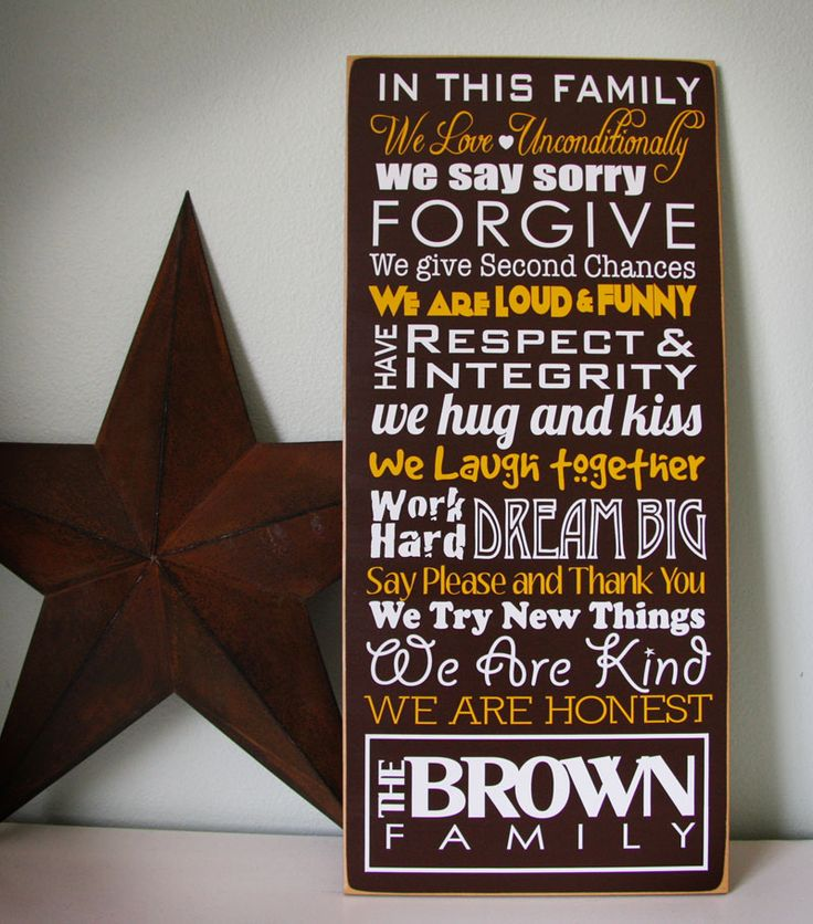 Best Display Family Mission Statement Images On