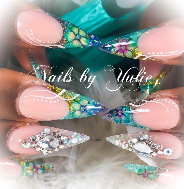 The 14 best Stiletto Nails images on Pinterest | Stiletto nails ...
