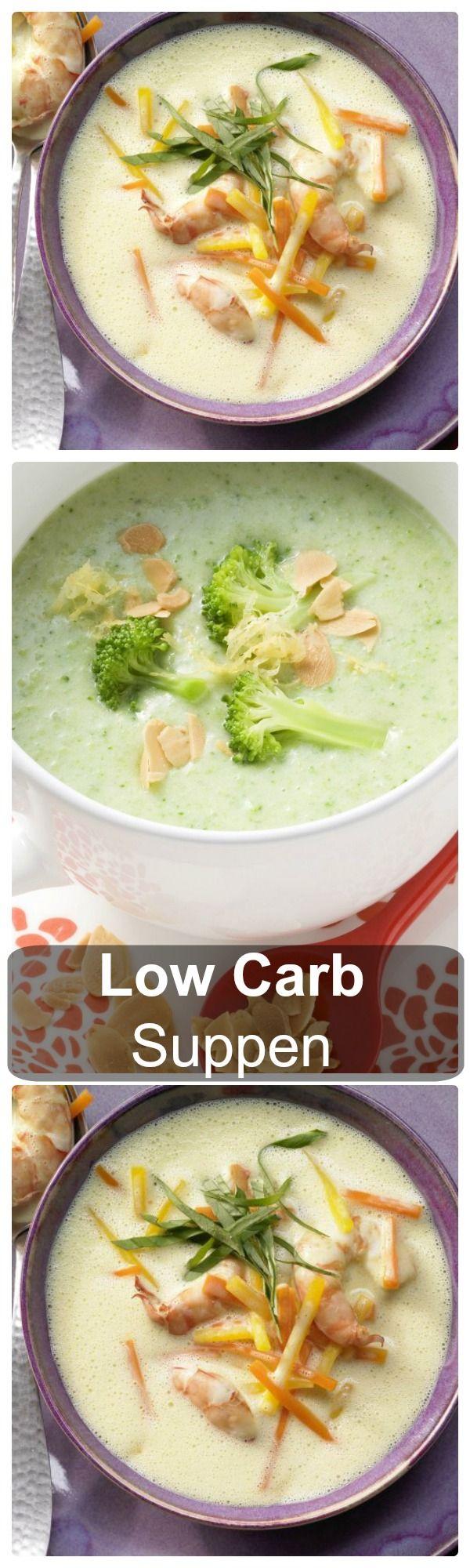 Suppen sind die idealen Low Carb-Partner. Schlemmen Sie auch während Ihrer Low-Carb-Diät, jetzt auf eatsmarter.de