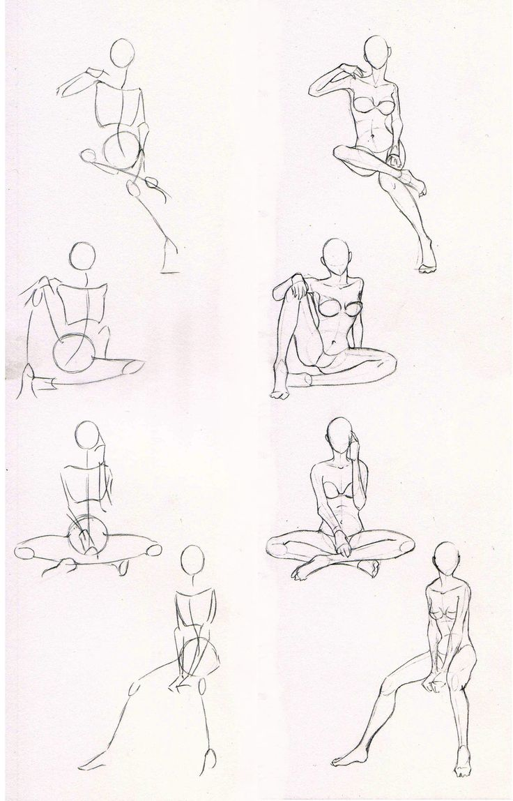 Sketches 29 - Woman sitting practice by Azizla.deviantart.com on @deviantART