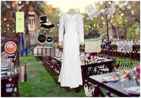 """""""Wedding Hijab 2"""" by fabsmusician on Polyvore"""