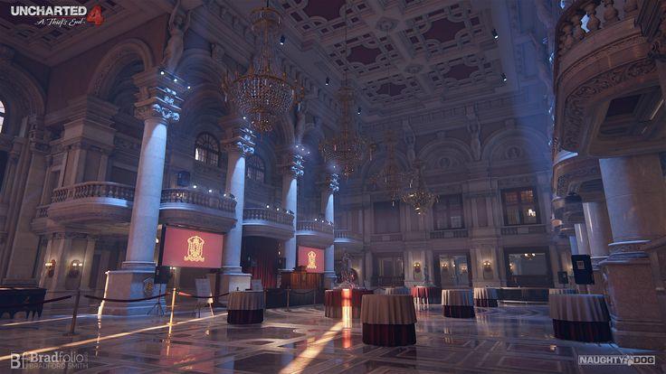ArtStation - Uncharted 4 | Ballroom, Bradford Smith