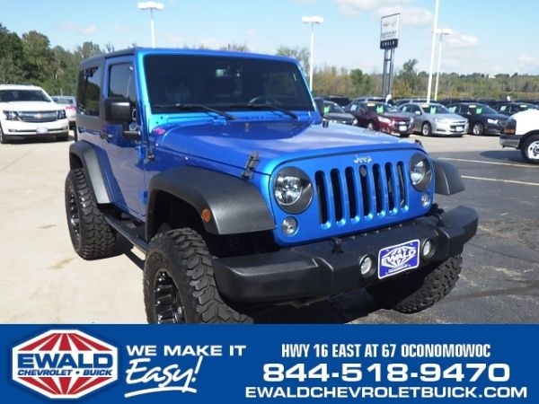 Used 2015 Jeep Wrangler for Sale in Oconomowoc, WI – TrueCar