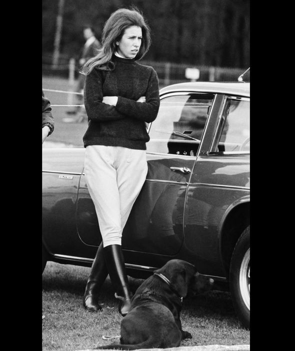 Princess Anne At Horse Trials (1971).                                                                                                                                                                                 More