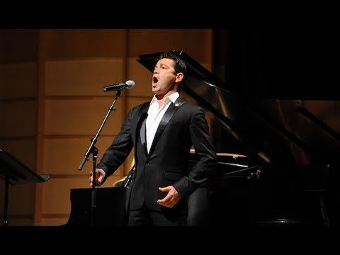 Mario Frangoulis performs John Lennons Imagine, via YouTube.