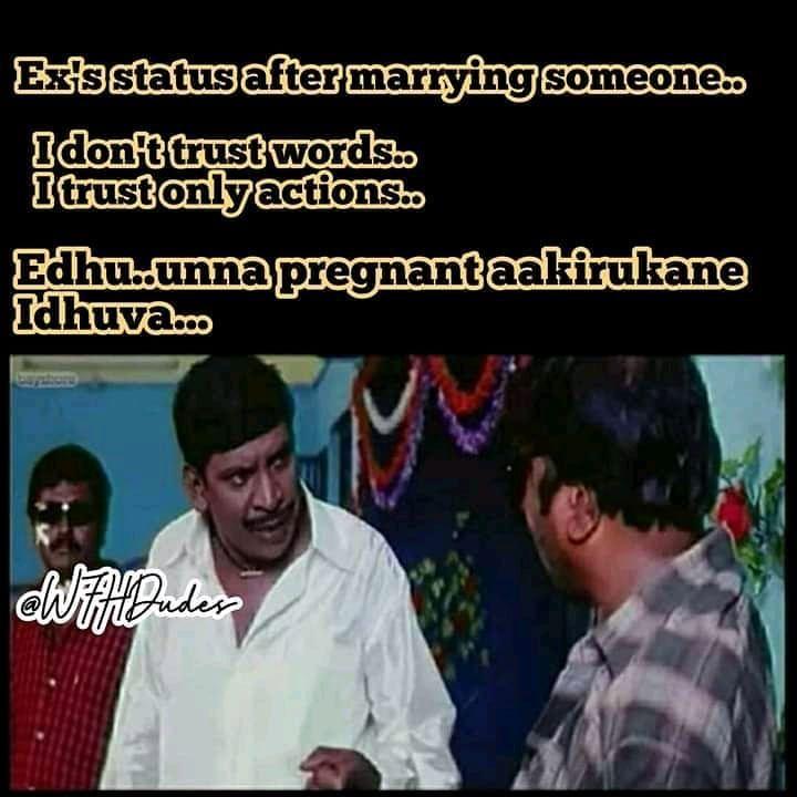 Follow Wfhdudes For More Fun Stuff Follow Wfhdudes For More Fun Stuff Lockdown 2020 Newyear Ex Tamil Comedy Memes Trust Words Memes