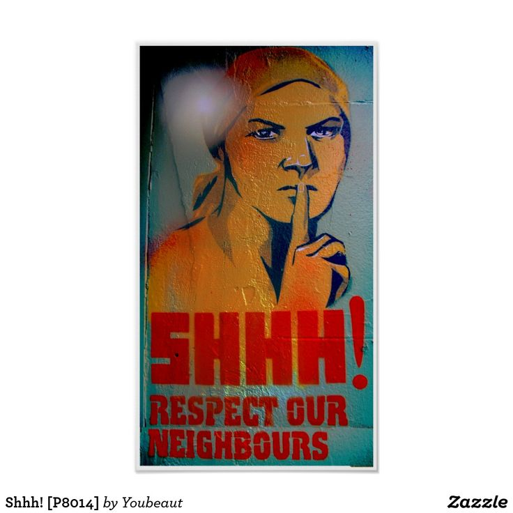 Shhh! [P8014] Poster