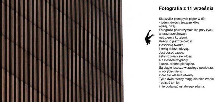 Fotografia z 11 września…   Wisława Szymborska