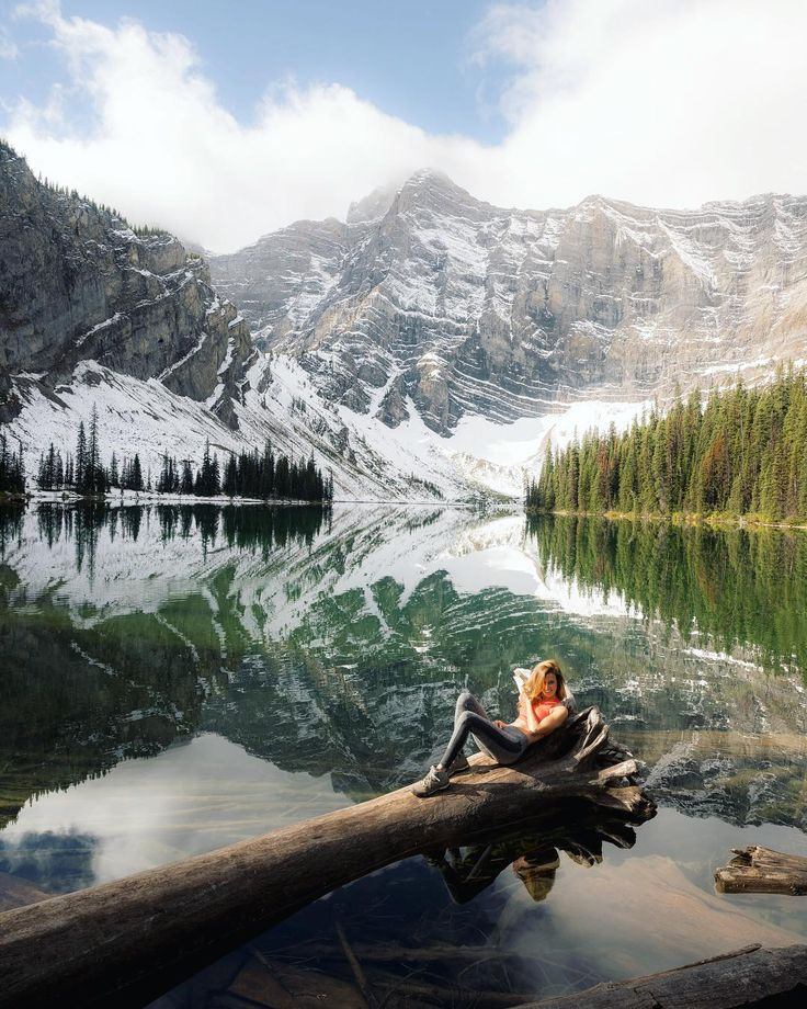 ***Lakeside rest (Peter Lougheed Provincial Park, Canadian Rockies, Alberta) by Quin (@everchanginghorizon) on Instagram