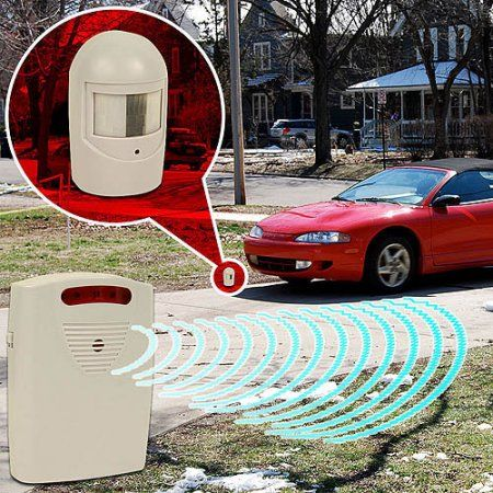 Trademark Driveway Patrol Infrared Wireless Home Security Alarm System - Walmart.com