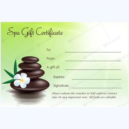 12 best images about spa and saloon gift certificate for Salon day spa