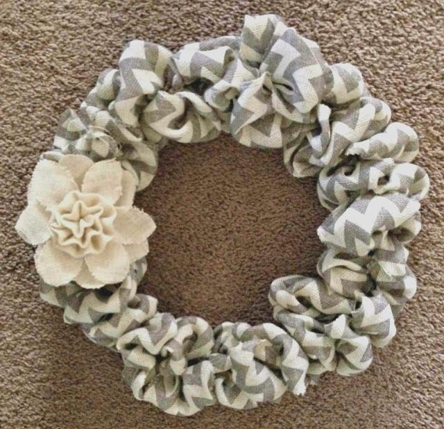 all things katie marie: DIY Burlap Wreath