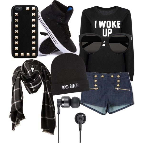 Fly As ties by royalty304 on Polyvore featuring polyvore, fashion, style, Juicy Couture, Supra, Yves Saint Laurent, Valentino, Nixon and Kill Brand