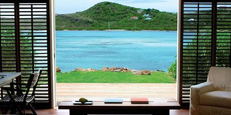 Take a peek inside the most lavish suite at Le Sereno St. Barth's Hotel, a breathtakingly beautiful oceanfront destination.