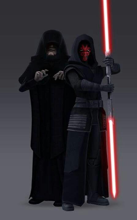Darth Sidious & Darth Maul from The Clone Wars